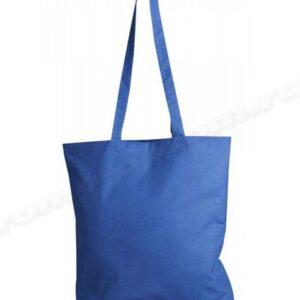 сумка из саржи синей 30х35