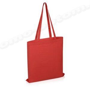 сумка из красной саржи 30х40