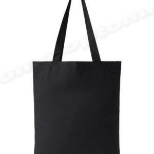 сумка из черной саржи 40х40