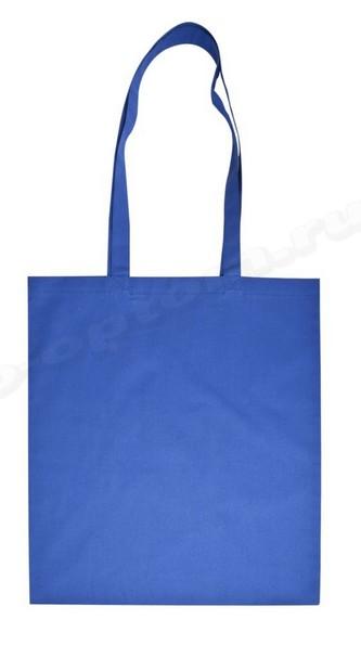 сумка из синей саржи 30х35