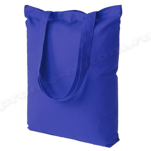 сумка из синей бязи