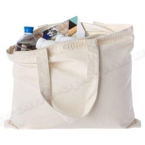 сумка для покупок из бязи