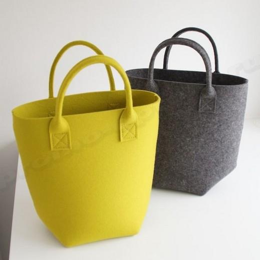 сумка из фетра 30х35
