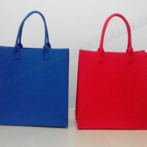 сумки из цветного фетра
