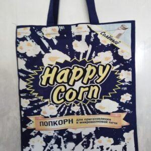 сумка с принтом попкорн