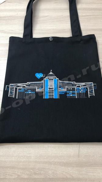 текстильные сумки с лого