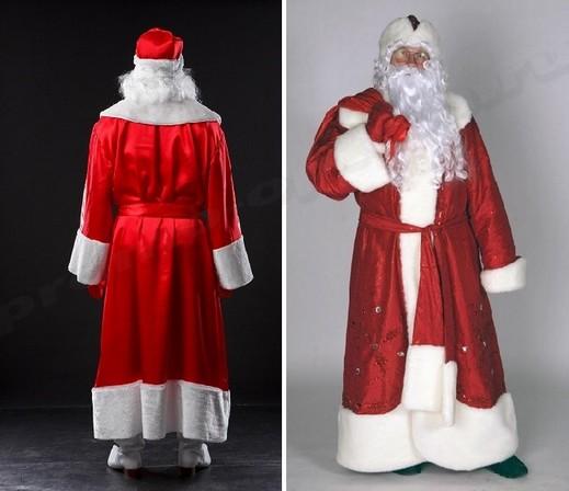 костюмы деда мороза оптом