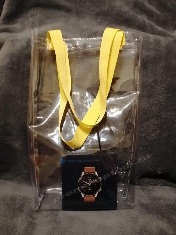 сумка из прозрачного пвх